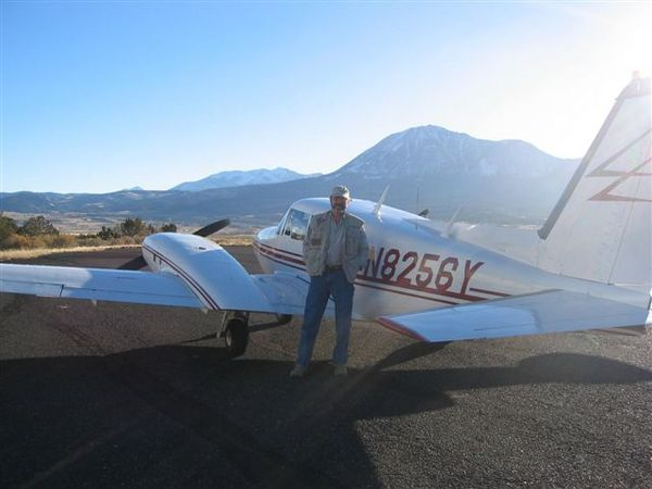 Karl Hipp and his Twin Comanche